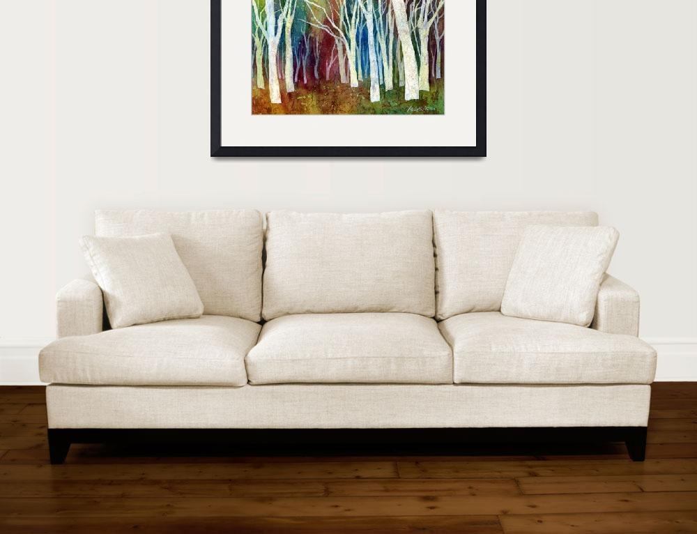 """""""White Forest""""  (2013) by HaileyWatermedia"""