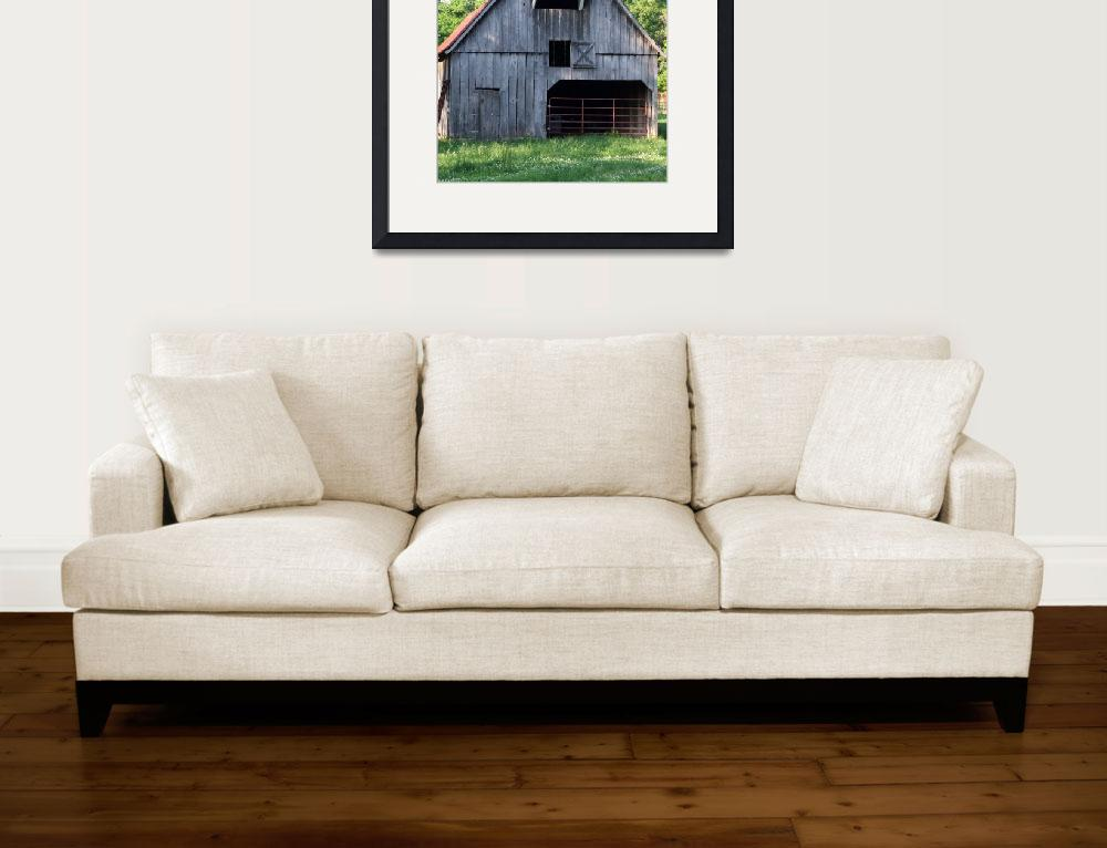 """Rustic Old Barn&quot  (2009) by Hartphotography"