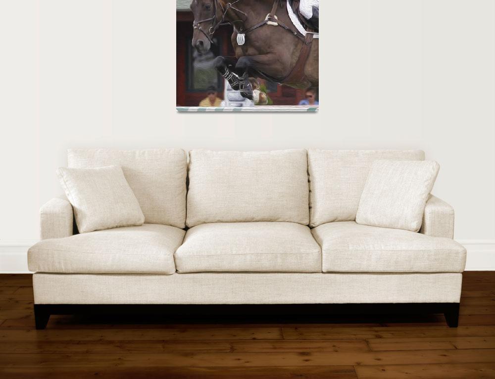 """Horse Show Jumper-13&quot  by dteetor2"