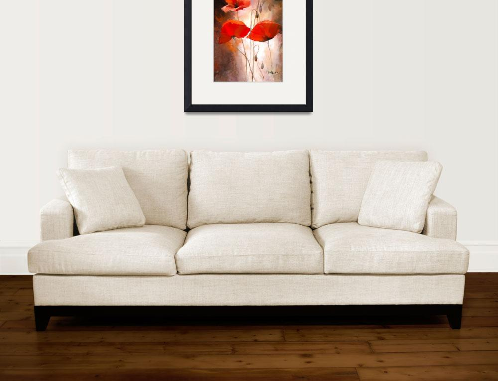 """""""poppies&quot  (2010) by willemhaenraets"""