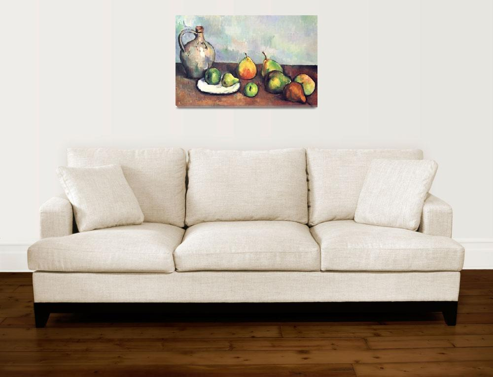 """Paul Cezanne Painting Framed Print""  by buddakats1"