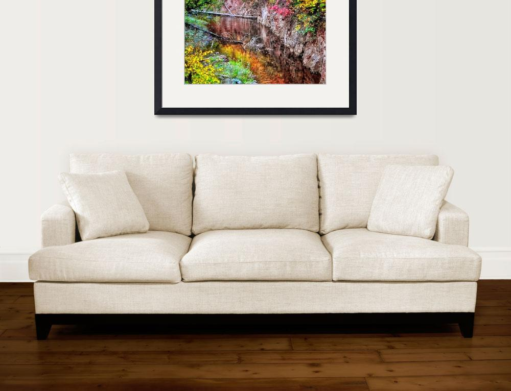 """""""Autumn Reflection&quot  (2016) by LJdesigns"""