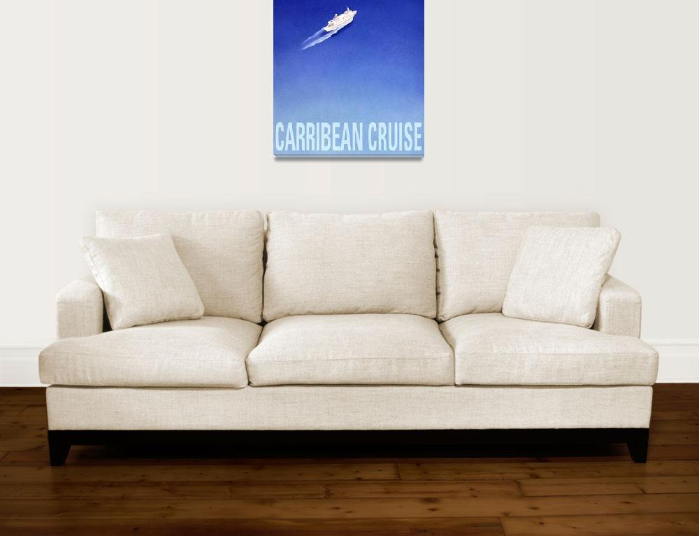 """""""Carribean Cruise poster""""  (1994) by cocomasuda"""
