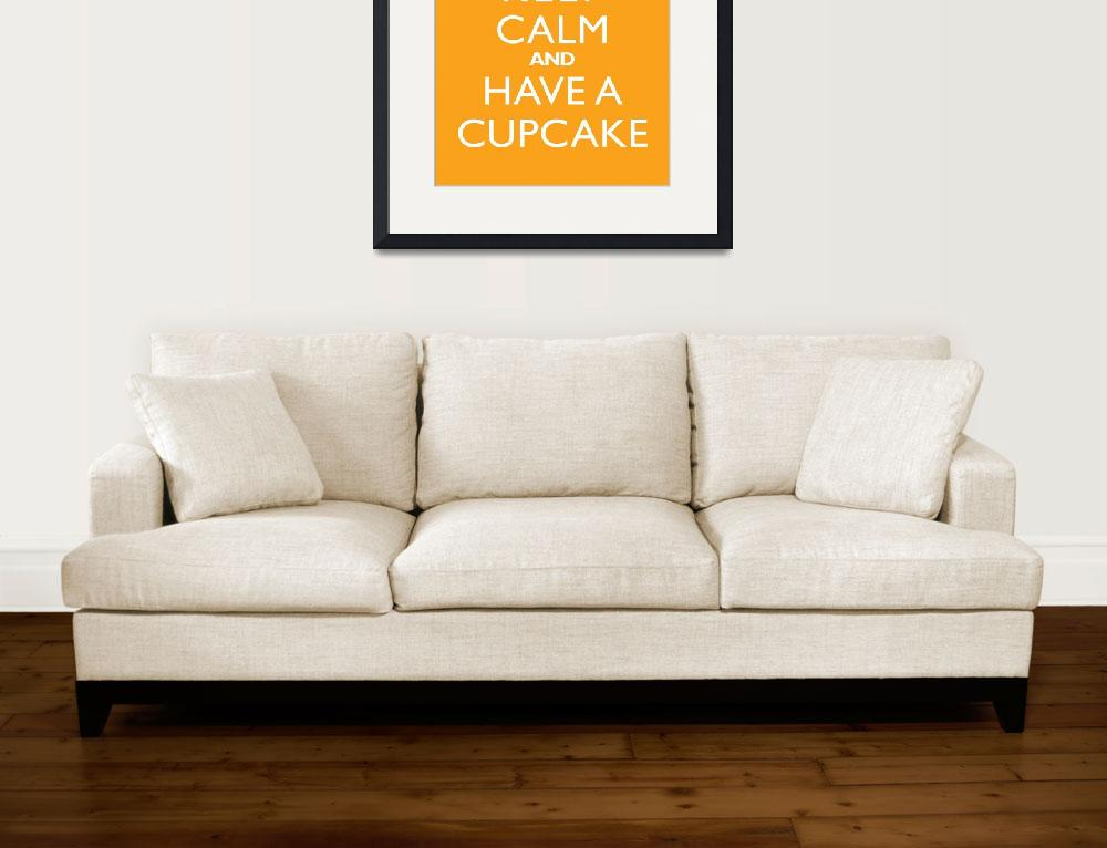 """Keep Calm and have a cupcake MANGO&quot  by cjprints"