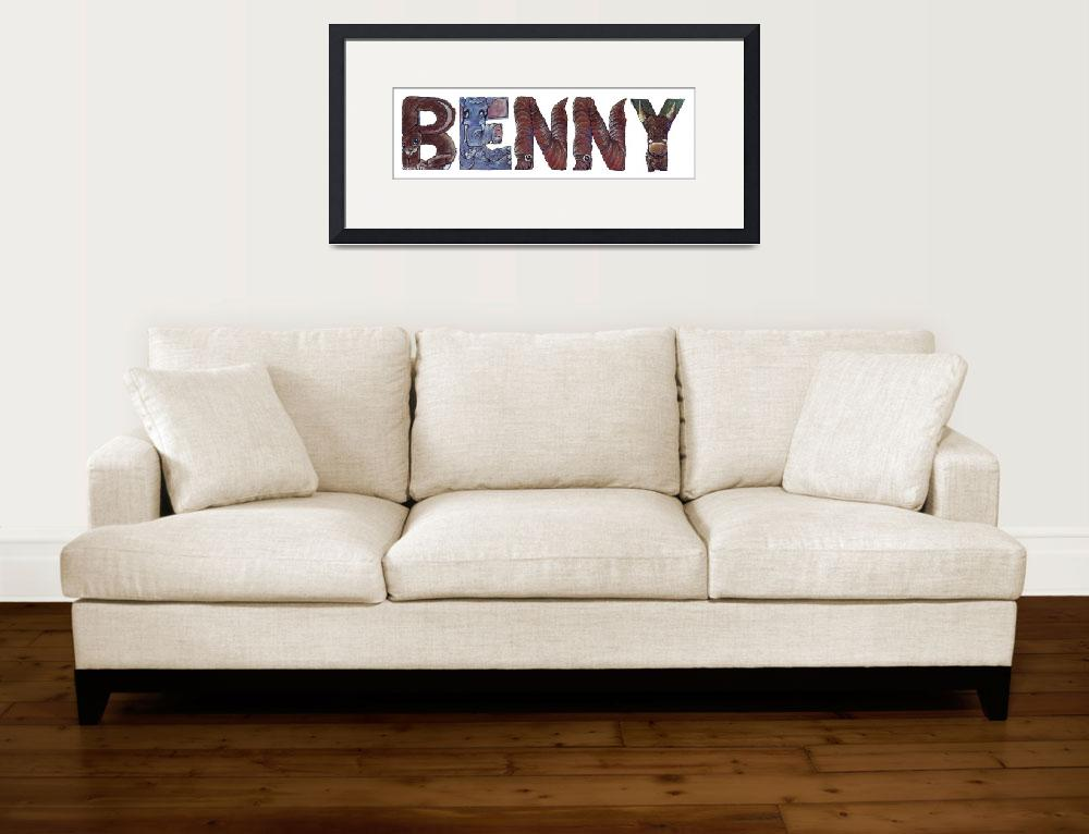 """""""Benny&quot  by animalsoup"""