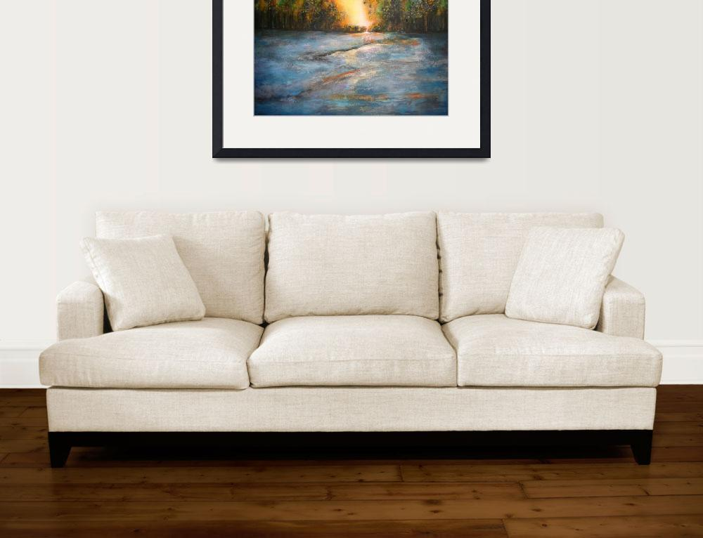 """""""Early morning  38 x 52 """" on canvas&quot  by Charest"""