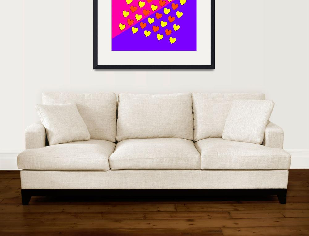 """""""HEARTS ON FIRE&quot  (2015) by thegriffinpassant"""