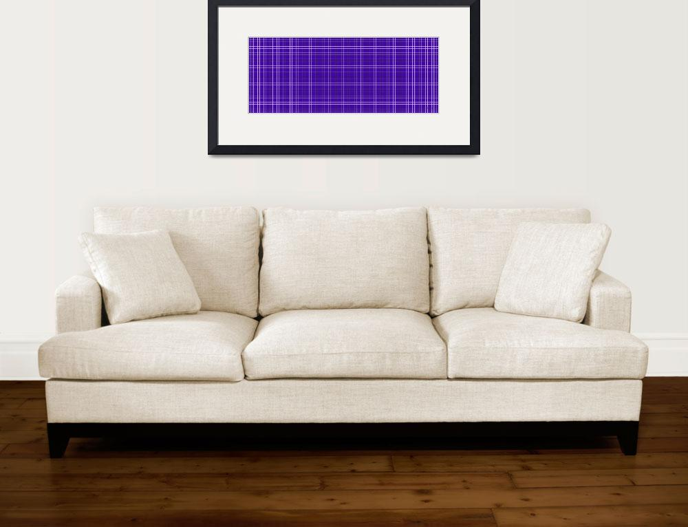 """23c5 Abstract Geometric Digital Art Purple&quot  (2016) by Ricardos"