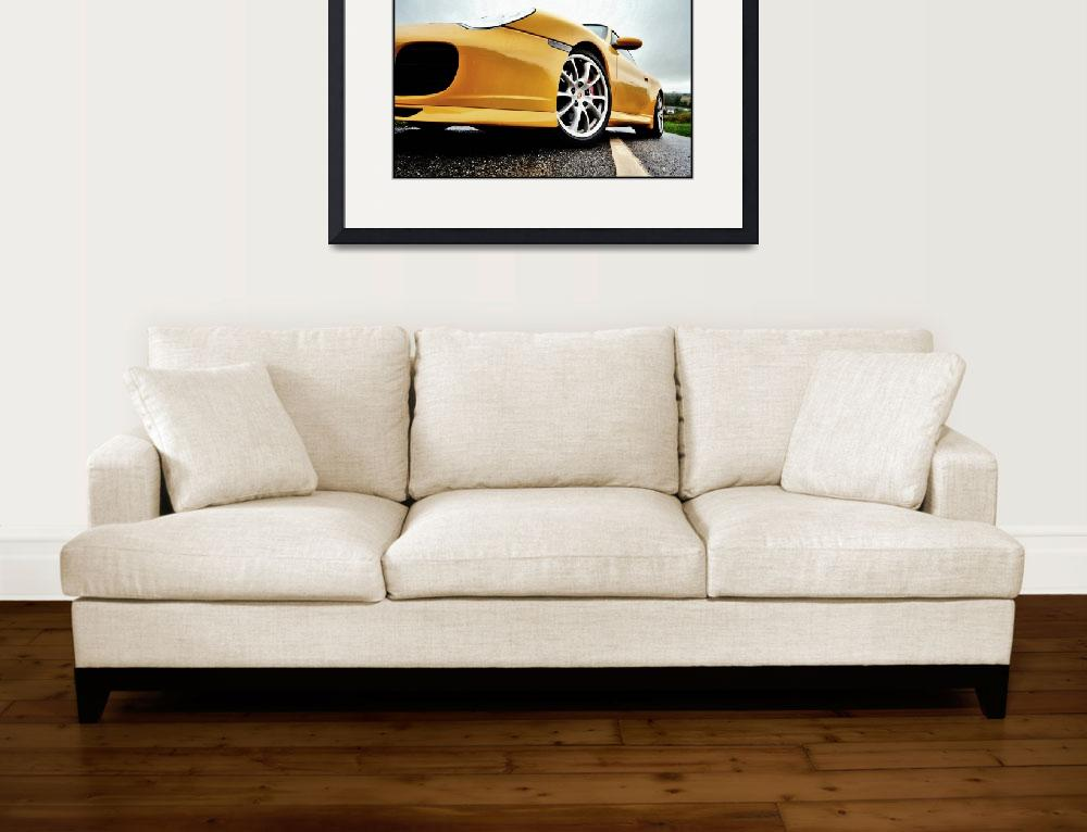 """""""Porsche 911 C4S - Angle""""  by justhype"""