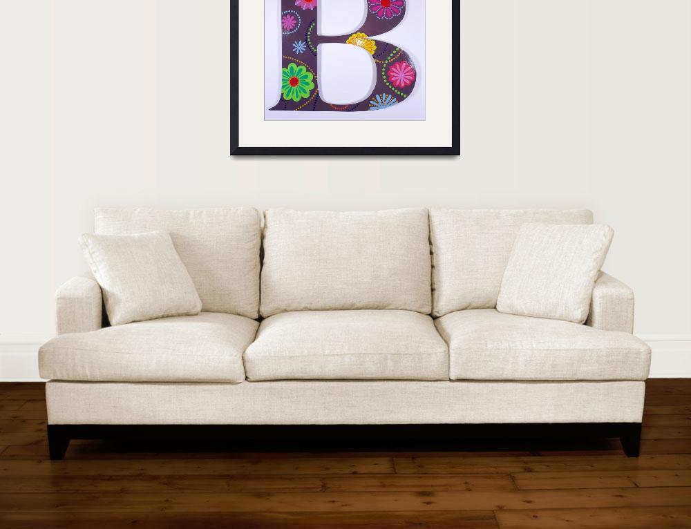 """ABC Wall Sculpture&quot  by JoyArtGallery"