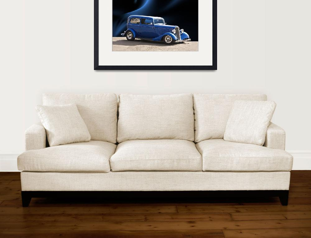 """1934 Ford Tudor Sedan II&quot  by FatKatPhotography"