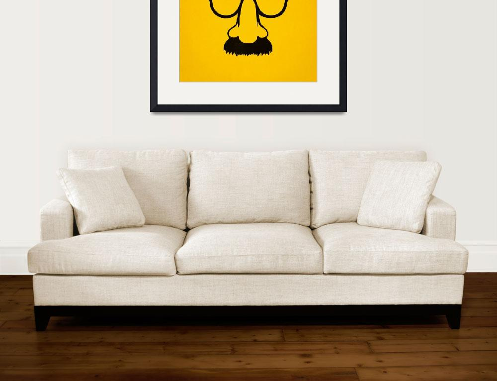 """Groucho mask - nerd glasses&quot  (2014) by badbugs"