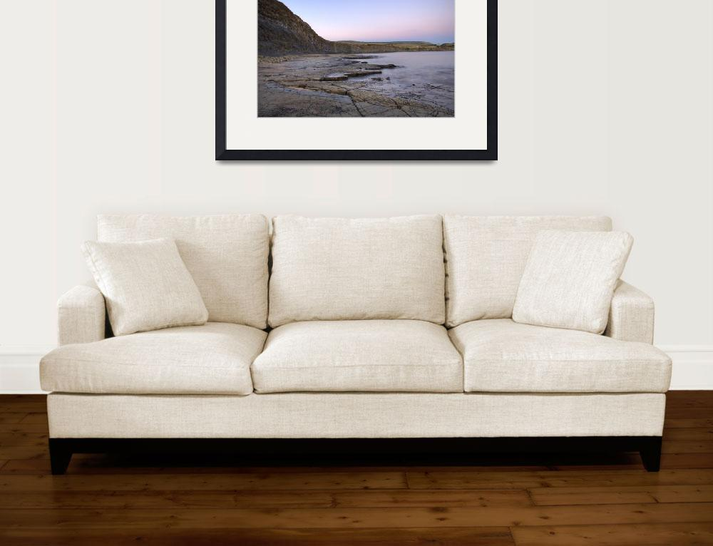 """""""Kimmeridge bay in Dorset""""  (2010) by IanMiddletonphotography"""