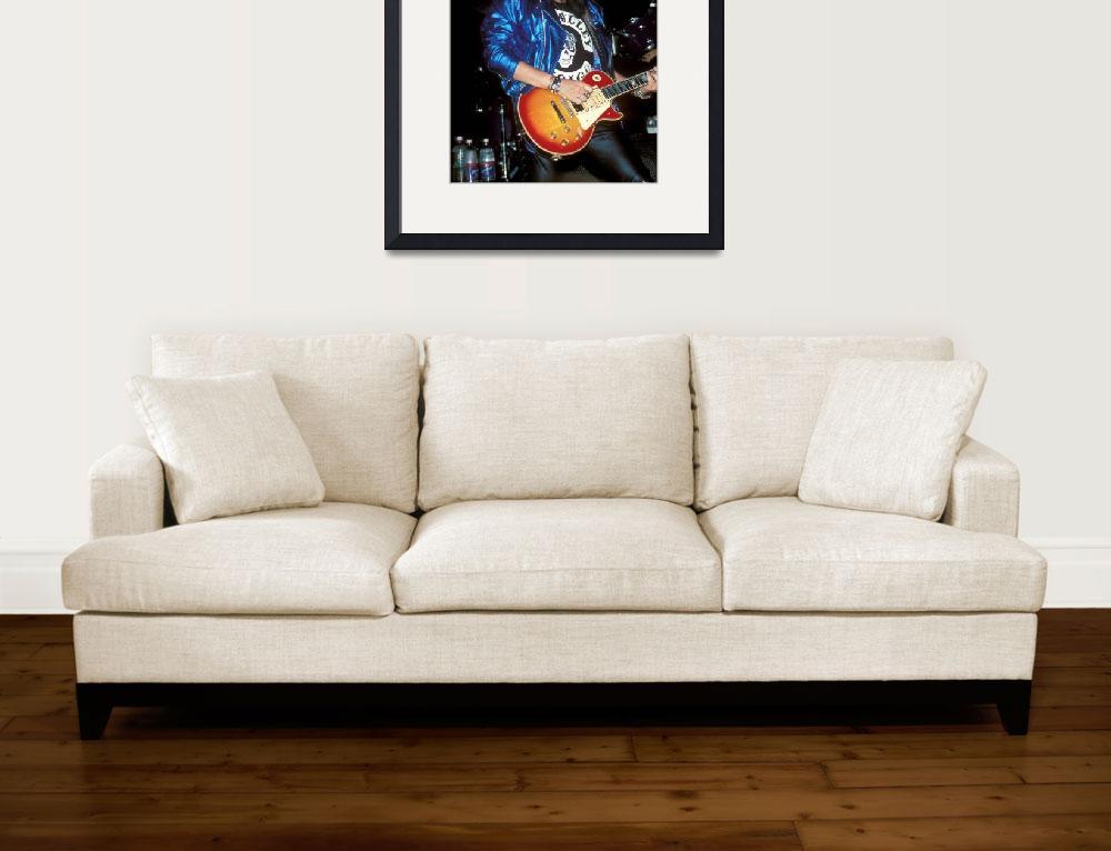 """KISS Guitarist Ace Frehley&quot  by FrontRowPhotographs"