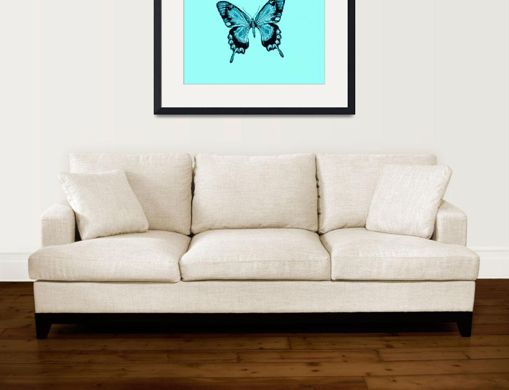 """""""Blue Black Butterfly""""  (2013) by TheNorthernTerritory"""