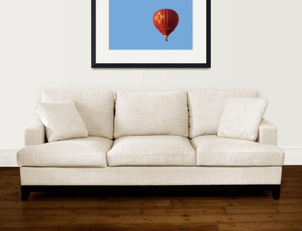 """""""New Mexico State Symbol Balloon&quot  (2011) by christiancarollo"""
