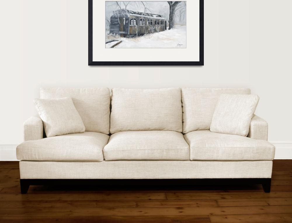 """""""The Pullman&quot  by maryfahlgrenart"""