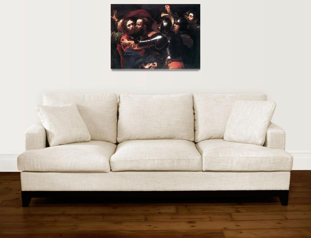 """""""Caravaggio Taking Of Christ""""  by oldies"""