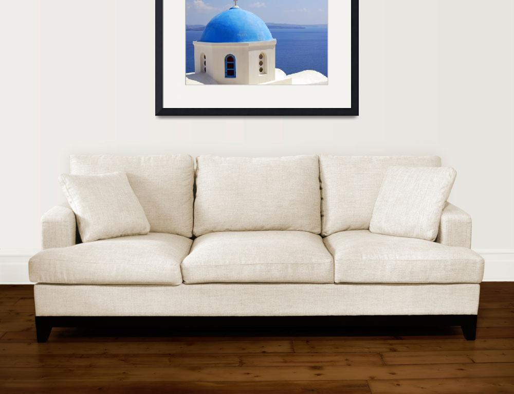 """Aegean Church""  (2008) by EppelScapes"