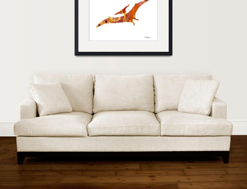 """""""Pterodactyl&quot  (2016) by k9artgallery"""