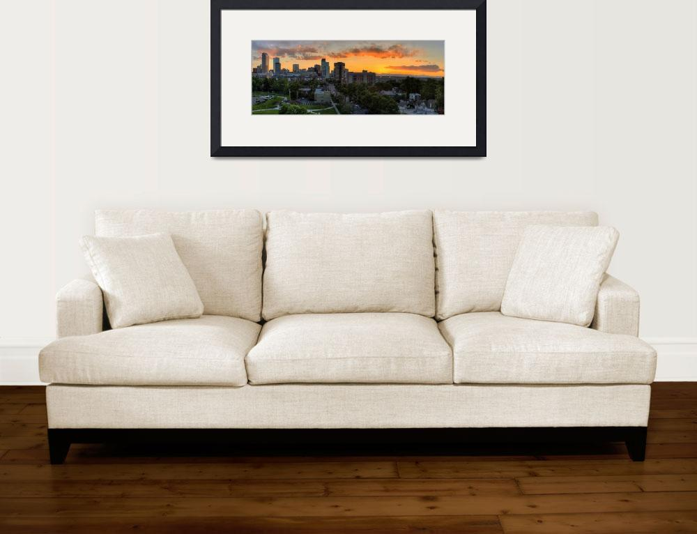 """""""Uptown sunset (Pano)&quot  by alexbenison"""