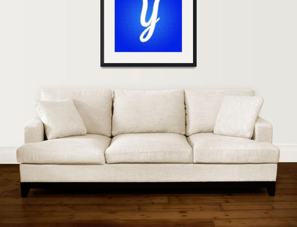 """Y-York-PP&quot  by LetterPopArt"