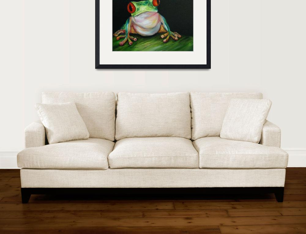 """""""Red Eyed Tree Frog&quot  (2008) by artistamy"""