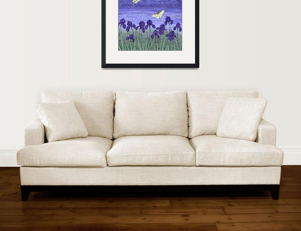 """""""violet night&quot  (2009) by sarahkdesigns"""