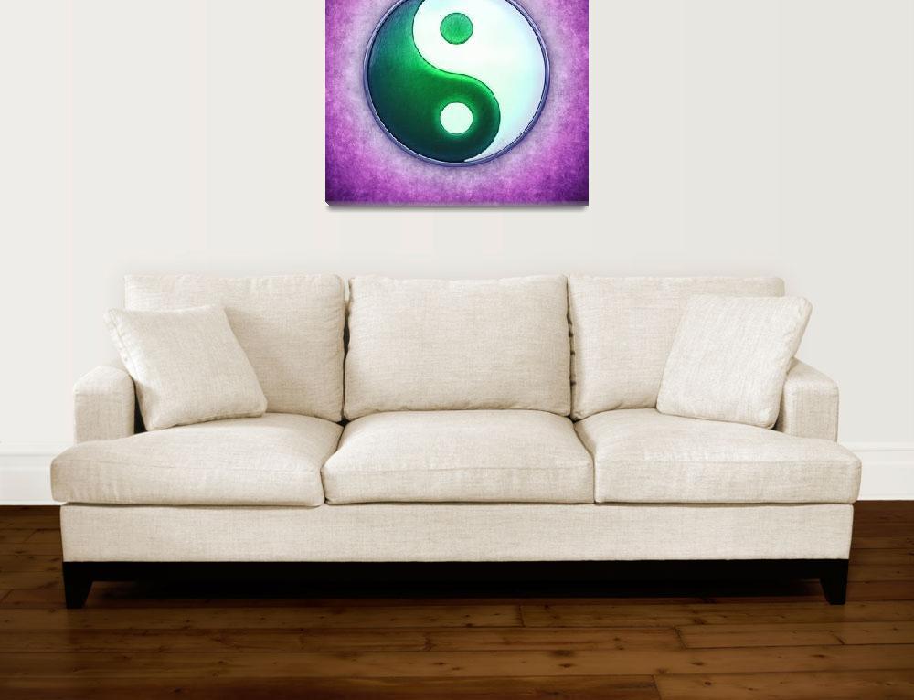 """Yin Yang - Labradorite Light Green""  by dcz"