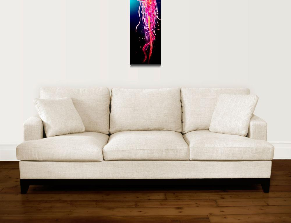 """jellyfish""  by artistMichaelTodd"
