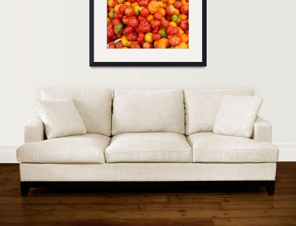 """tomatoes&quot  (2007) by NickBiscardiArt"
