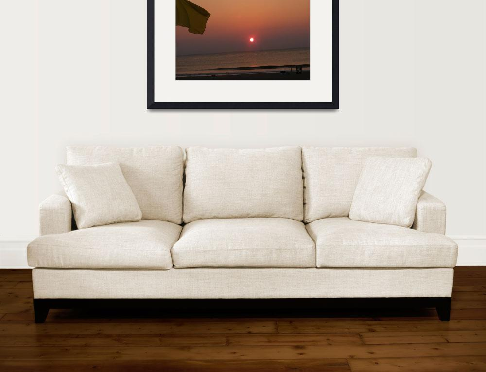 """""""Sunrise over the Atlantic""""  (2009) by RichesofHisGlory"""