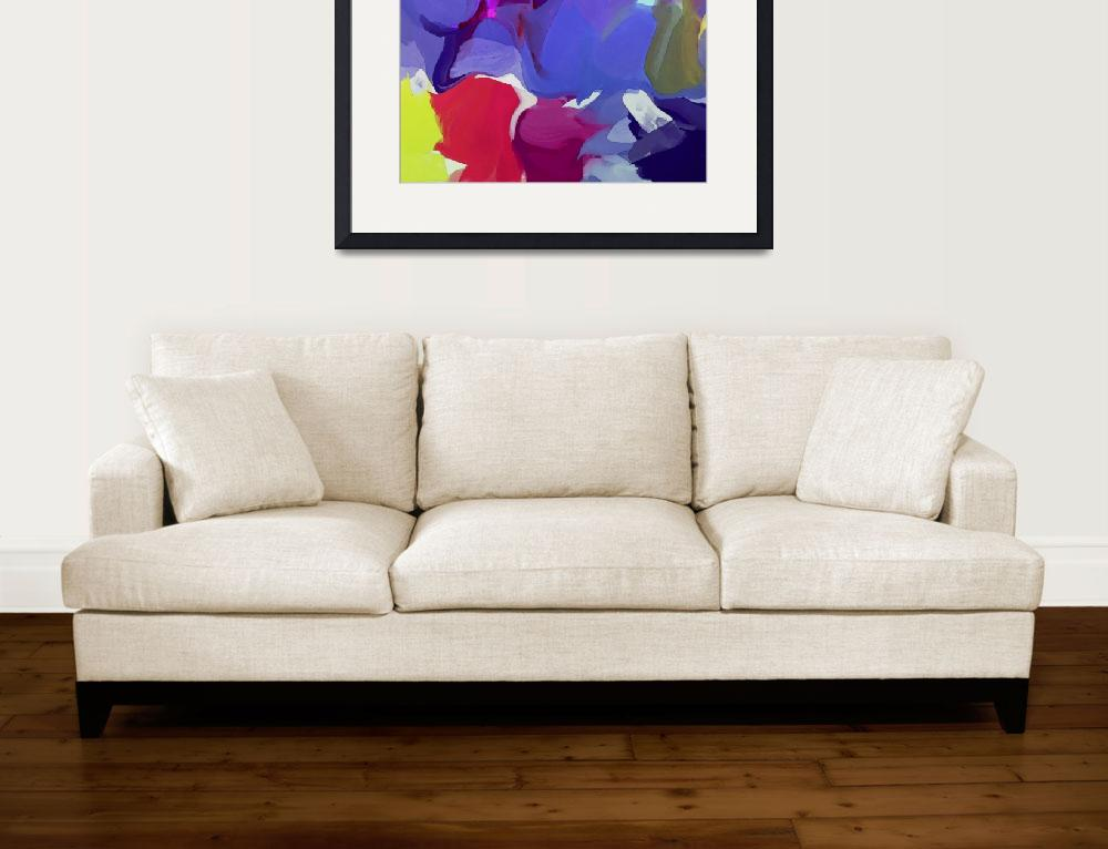 """Abstract Colorful Art&quot  by Aneri"