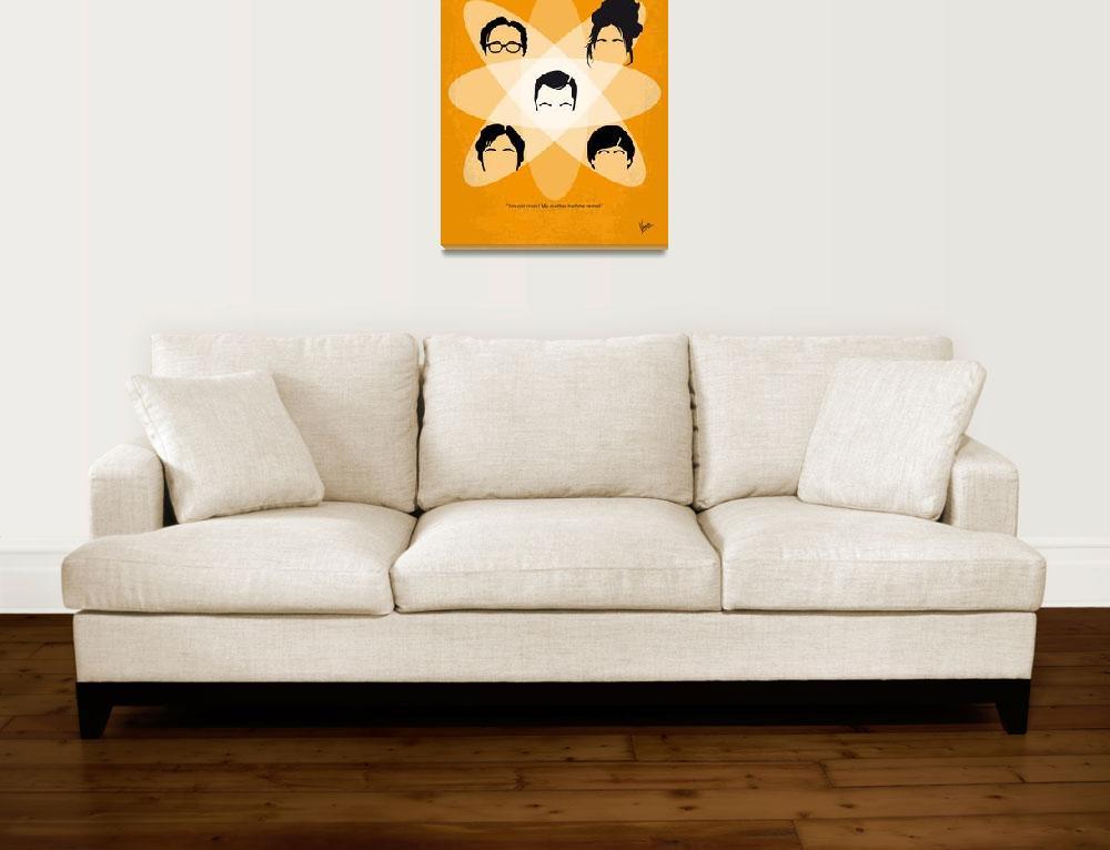 """""""No196 My The Big Bang Theory minimal poster""""  by Chungkong"""
