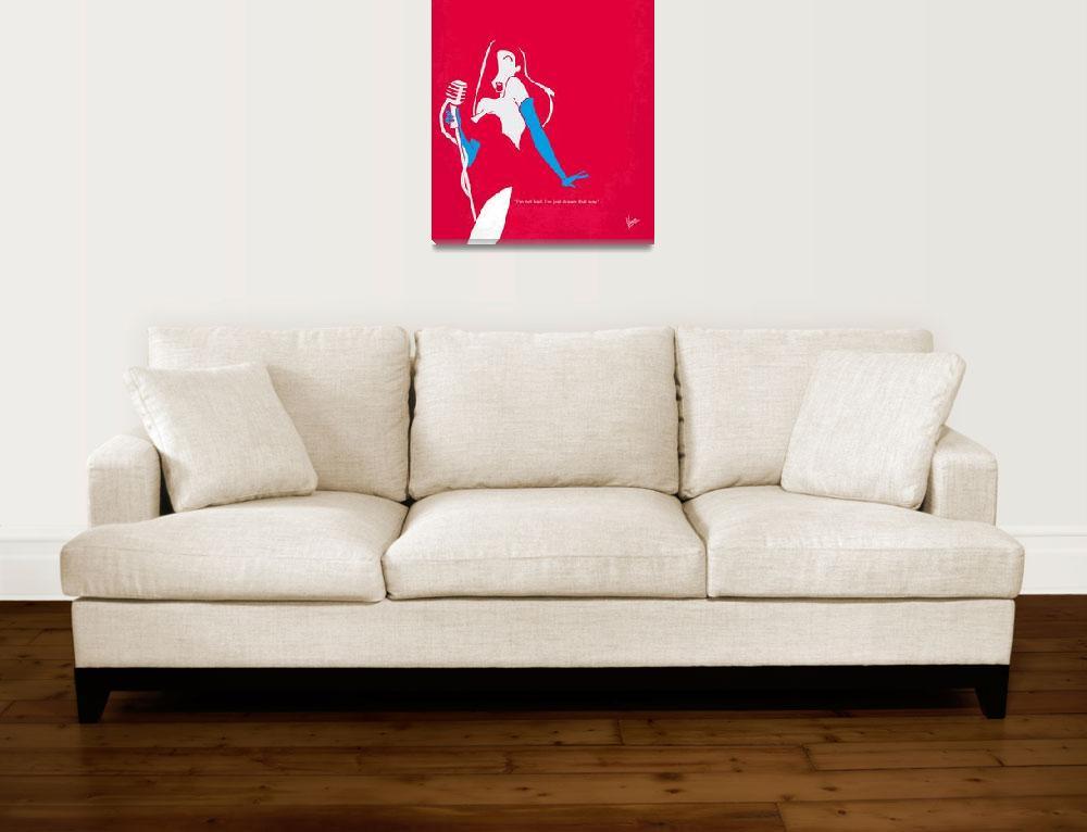 """No271 My ROGER RABBIT minimal movie poster&quot  by Chungkong"