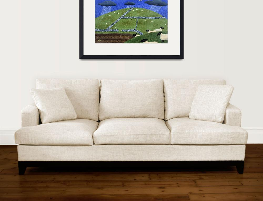 """""""rain over the pennines&quot  (2006) by AmandaWhite"""