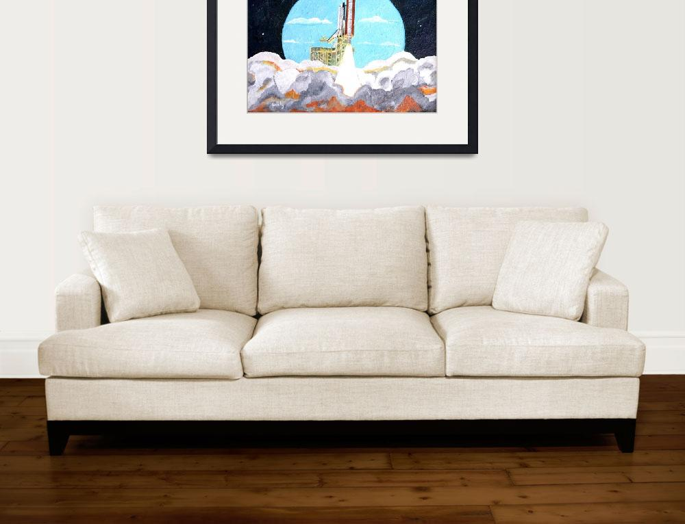 """Space Shuttle""  (2010) by paintingsbygretzky"