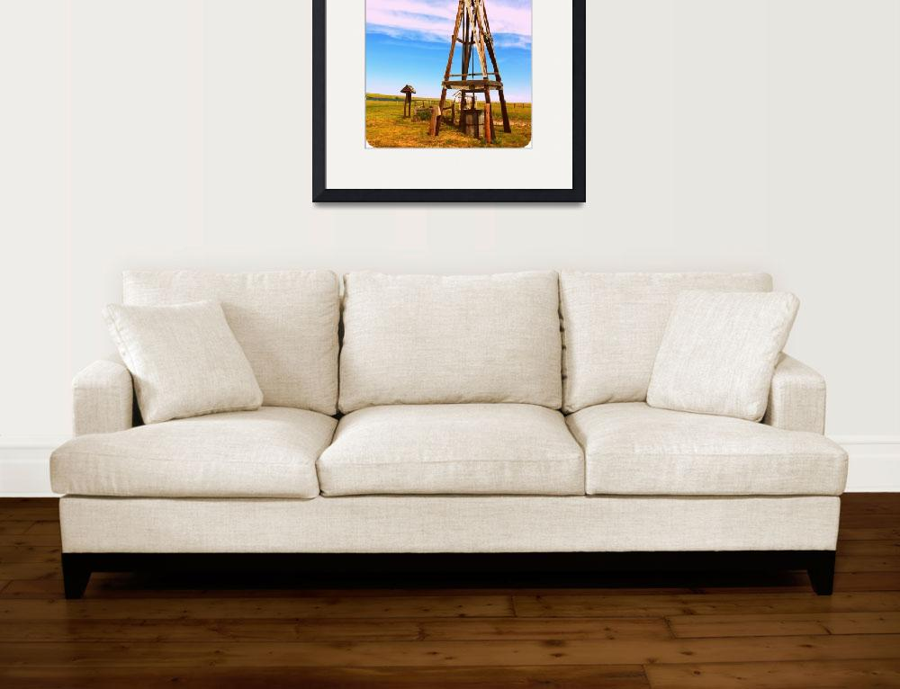 """""""Old Windmill&quot  (2012) by beawesomenow"""