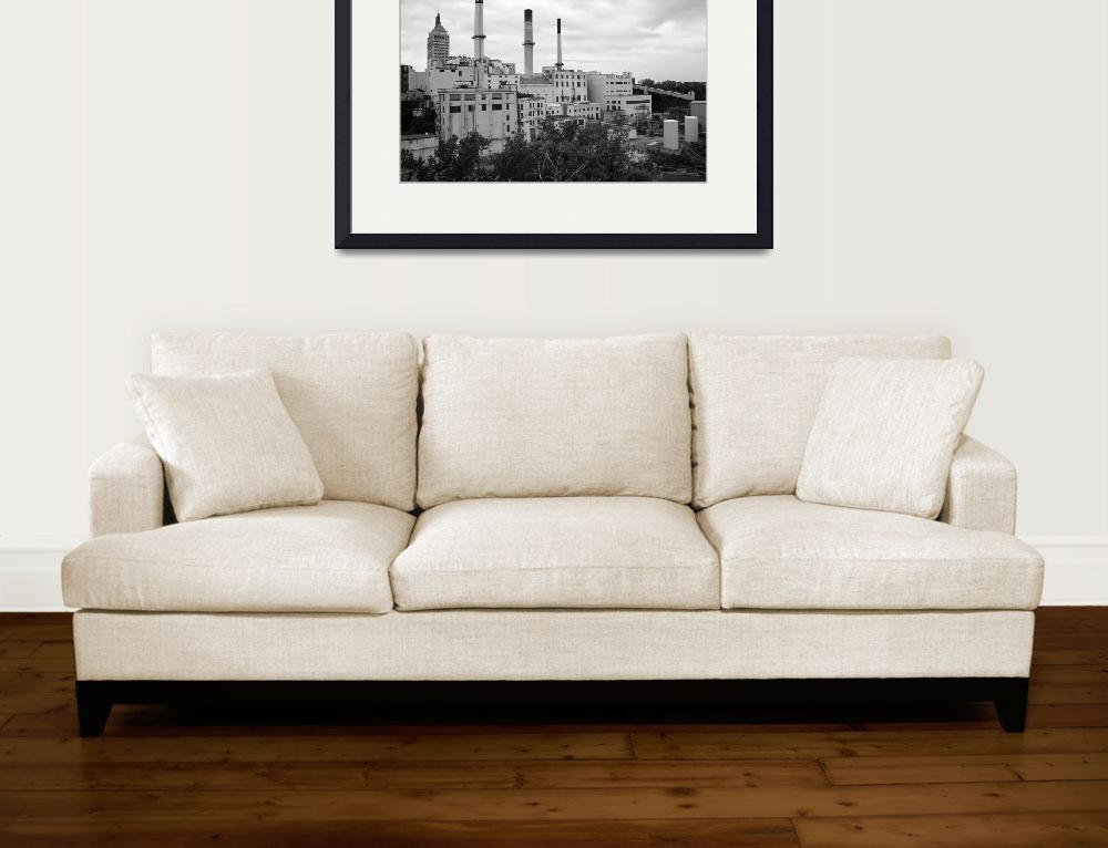 """Rochester, NY - Factory and Smokestacks 2005""  (2005) by Ffooter"