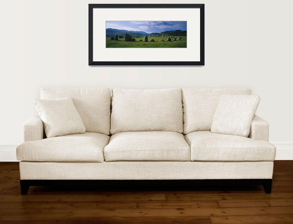 """""""Stone circle on a landscape&quot  by Panoramic_Images"""