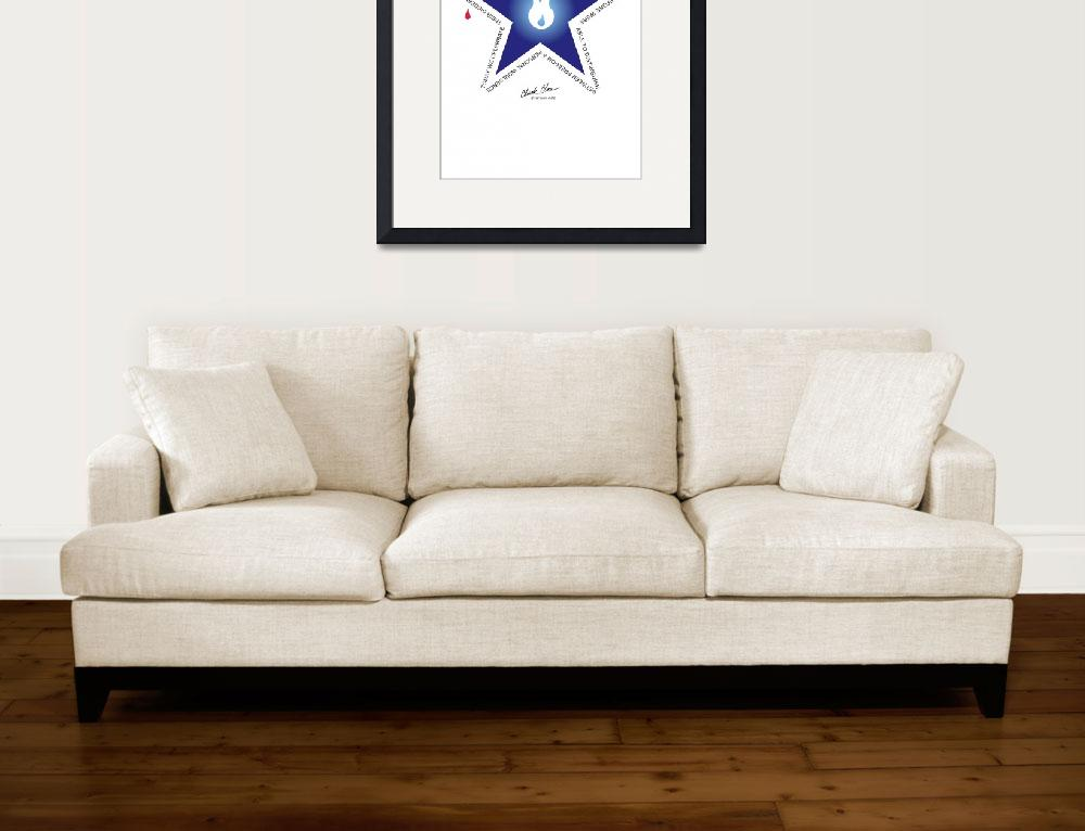 """""""Freedom Star&quot  (2007) by ChuckClore"""