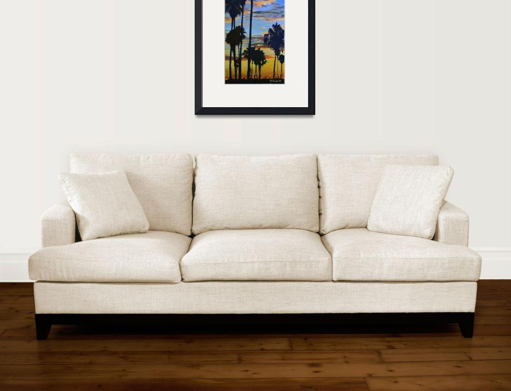 """""""Mission Bay Sunset verticle tall 2015&quot  by RDRiccoboni"""