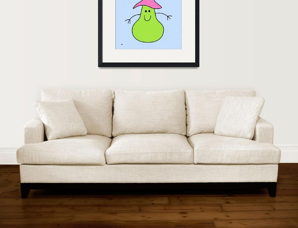 """""""Miss Pear&quot  (2014) by DMibus"""