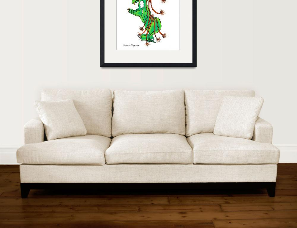 """""""Whimsy-Orbasaurus&quot  (2009) by DHMoynahan"""