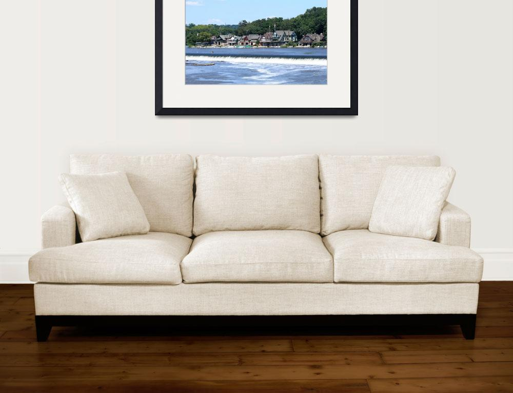 """""""Boathouse Row&quot  (2009) by FordLou"""