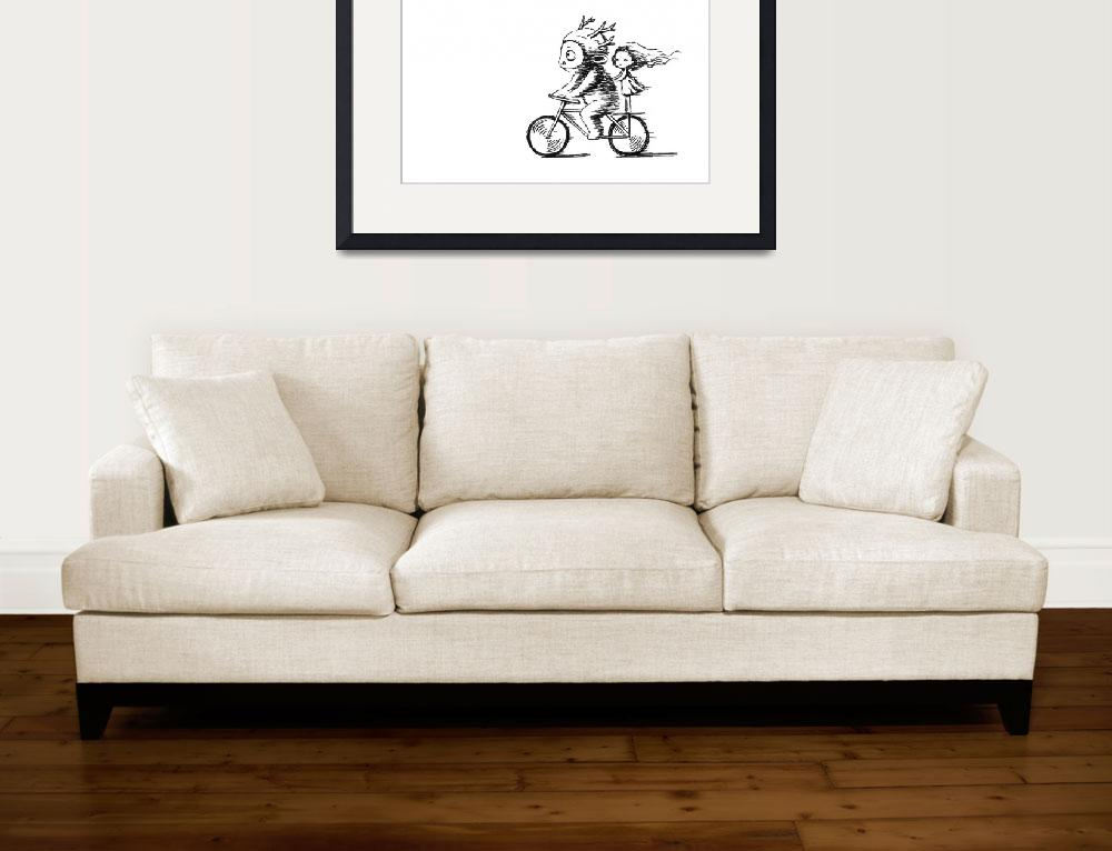 """Bicycle Ride&quot  (2012) by freeminds"