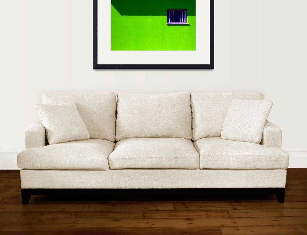 """""""an ordinary wall...window on the green&quot  by elchblut"""