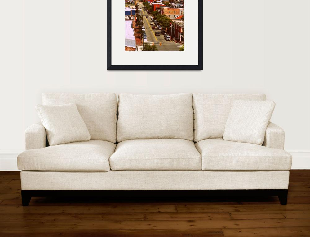 """Looking North on 18th Street in Richmond, Virginia&quot  by Artsart"