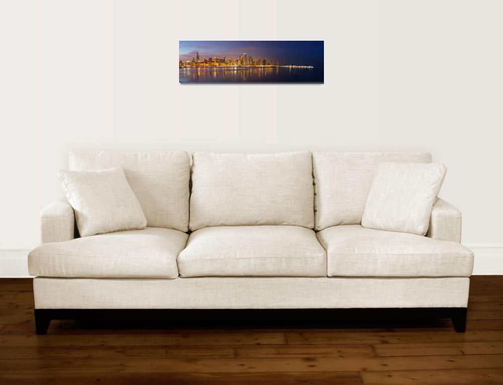 """Chicago Skyline""  by jeffmtrost"
