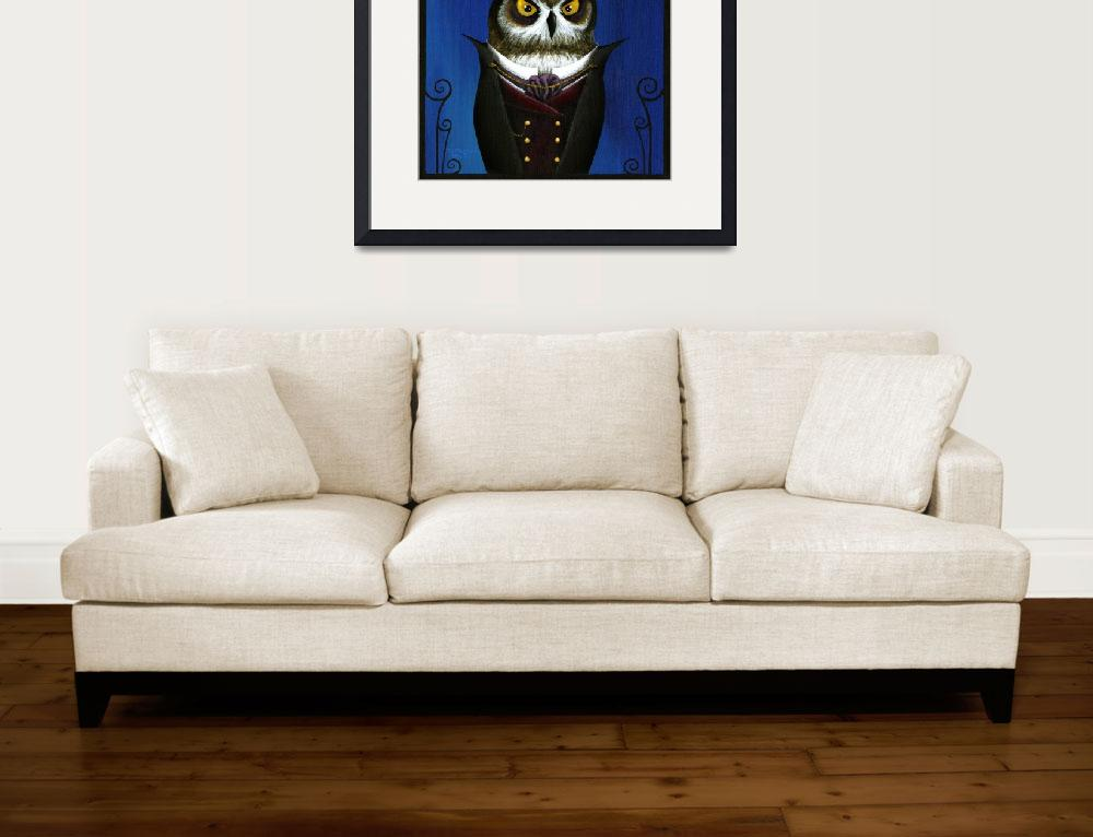 """""""Byron A Hornedowl""""  (2009) by MagnificentF"""